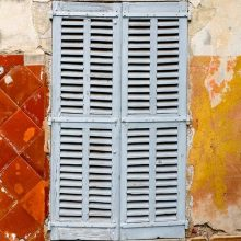 The shutters of Provence