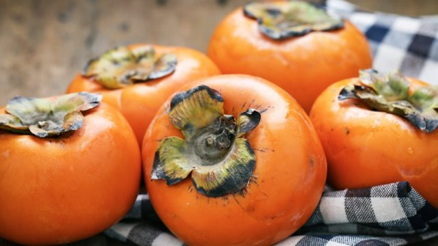 Persimmons – a Provençal 'Christmas tree'