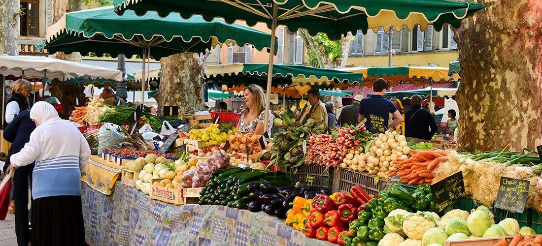 Favourite Squares of Provence – Place Richelme, Aix