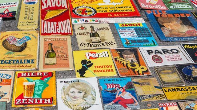 Flea markets in Provence